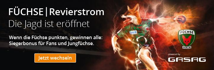 Füchse Revierstrom - Die Jagd ist eröffnet