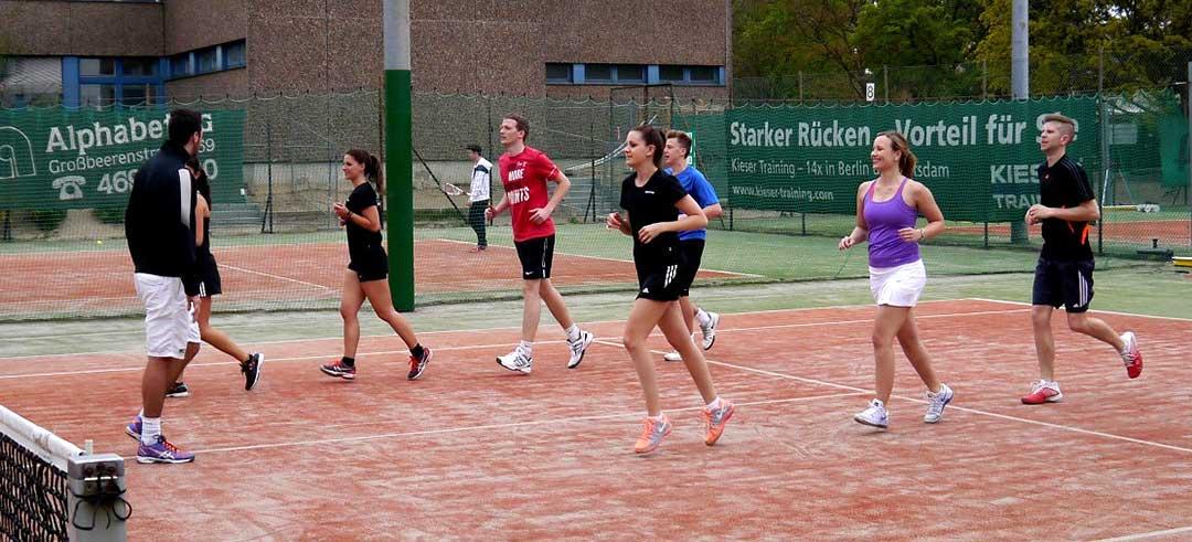 Jugendtraining Tennisclub Heilandsweide