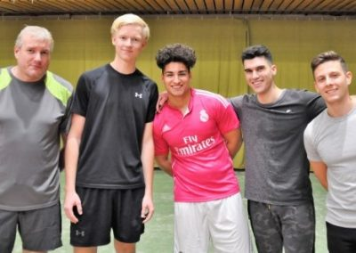 Fußball-Tennis-Turnier '18